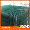 Anping Factory PVC/Powder Coated Welded 3D Panel Fence Wire Mesh Security Fence