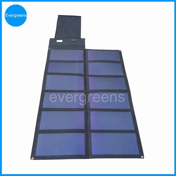 75W folding amorphous solar charger, build your own solar panels