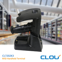 Long Rang UHF Handheld RFID Reader,Rugged Handheld Barcode Scanner Android, Industrial PDA CL7202K3