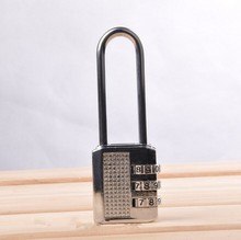 Long metal rod digital combination lock