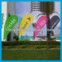feather beach flag banners