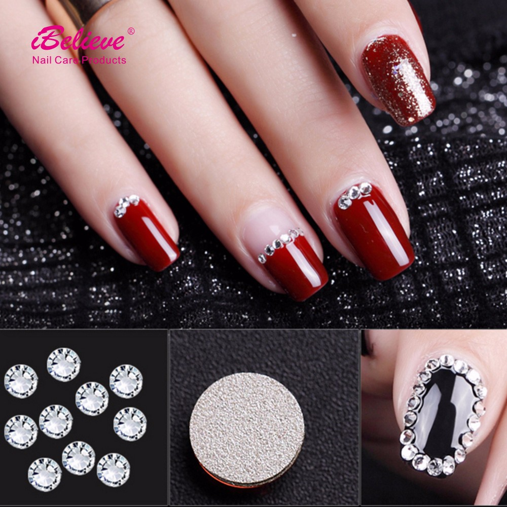 3d nail art decoration acrylic daimond nail sticker for for 3d nail art decoration