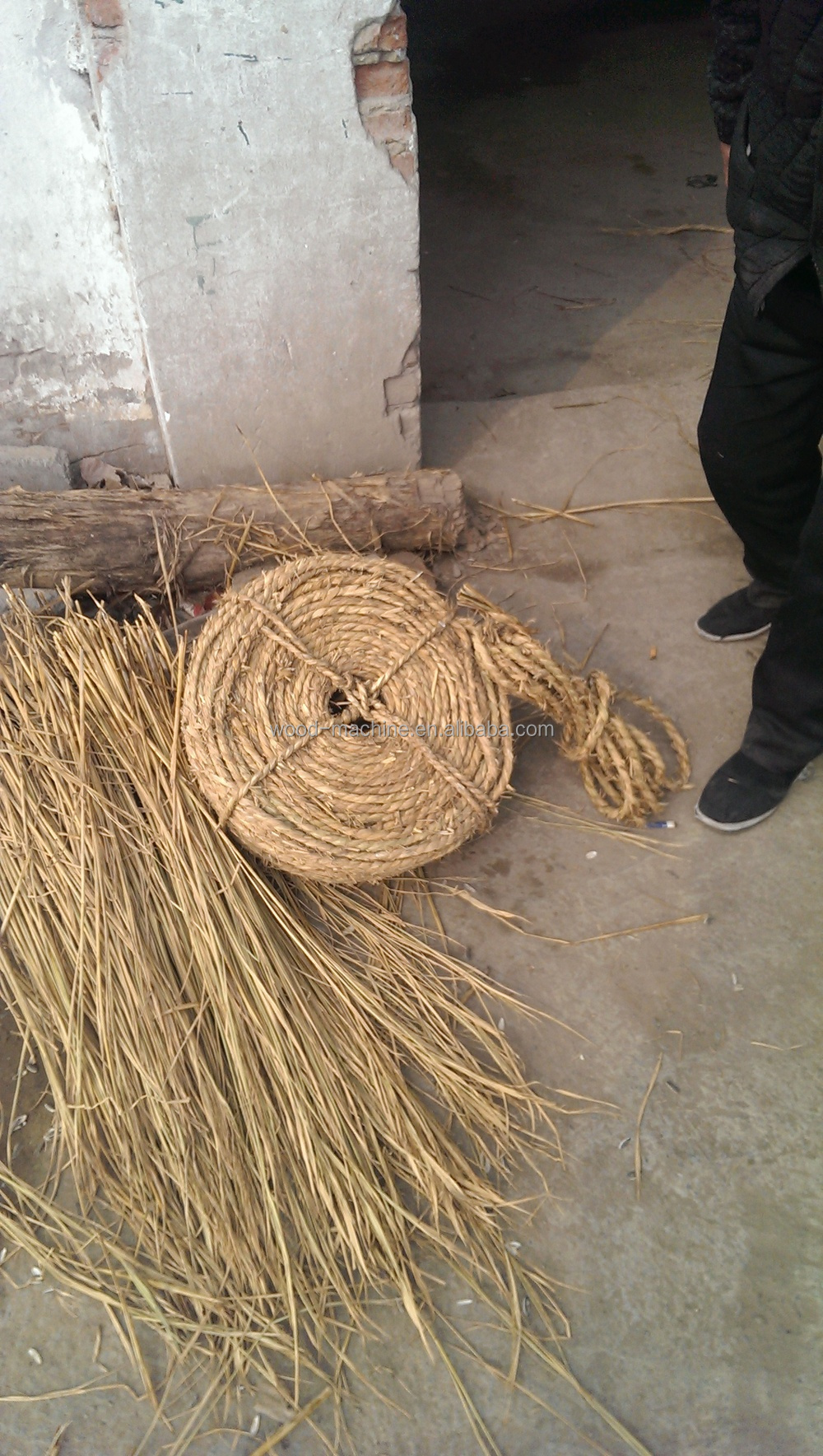 Straw Grass And Hay Rope Weaving Maker Sale Buy Wheat Making Machinehay Band