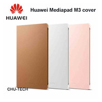 Original Leather Flip Cover for Huawei Mediapad M3 Leather Case With Sleep / Wake Function Stand Full Protect Tablet Case