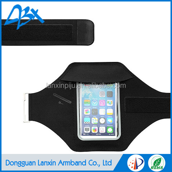 Super slim lycra elastic running jogging armband for iphone 5c case and iphone SE