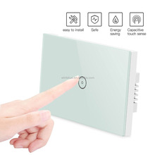 Smart dust Waterproof Z-Wave 3-way Lighting Touch Screen Switches Wireless Smart Light Switch Timer