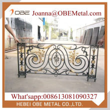 Luxurious Metal Indoor Stair Deck Porch Railing Design