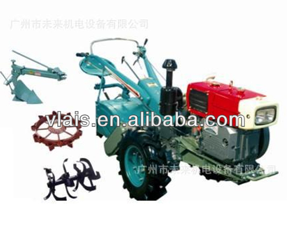 15HP Farm Walking Tractor Cultivator Tiller For Agriculture