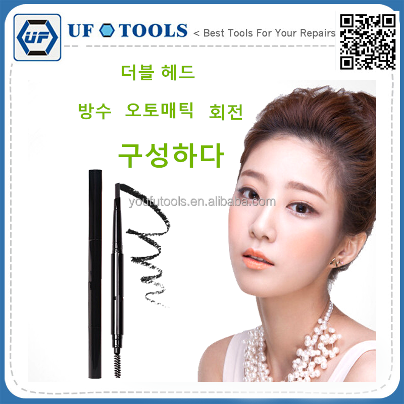 New manufacture double use style korean eyebrow make up embroidery knife rack pen,tattoo pen for south korea paris london USA