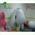 Custom White Fat Man Inflatable Baymax for Display