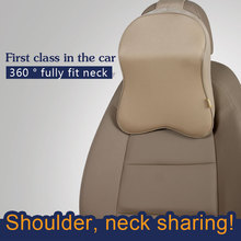 Factory Price Car Driving Use Memory Foam Head Neck Rest Pillow