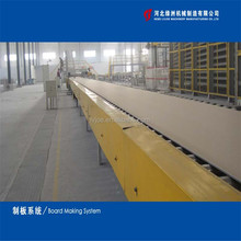 Gypsum Plasterboard Production Line/making machine /Plant(Full Automatic)