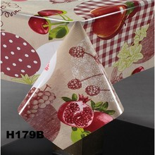 decorative wedding table cover laminated table cloth