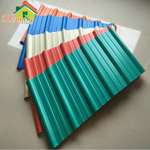 Convenient and efficient installation french life tile curved fiberglass roof tile for garden pavillion/pvc roof shingles