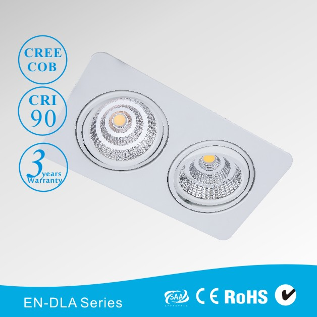 Shenzhen 120mm Cut-out LED Downlight Adjustable Down Light