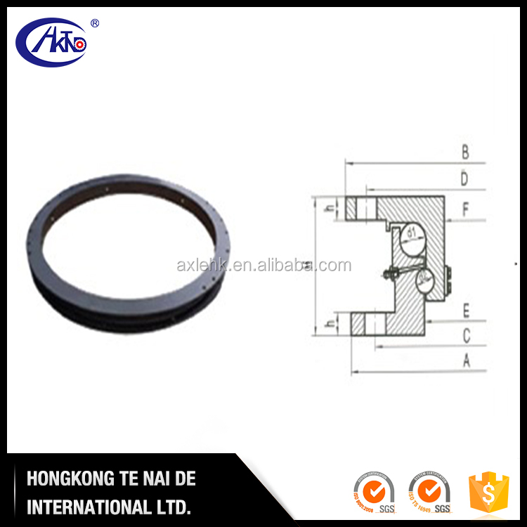 Tractor and Semi Trailer Axle Parts Double Ball Bearing Turntable