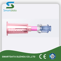 Hypotec IV Mixing Safety Connector with Needle Free Port, Free needle injuries, world wide patent