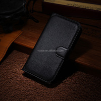 Wholesale leather case for iphone , leather belt clip flip wallet case for iphone 6