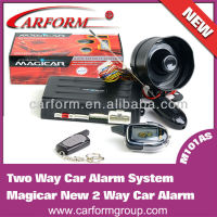 motorcycle police sirensystem long range two way car alarm system with lcd remote controller