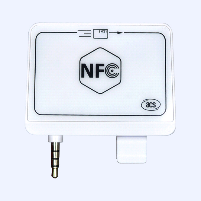 NFC Audio Jack Mobile Mate Magnetic Stripe Card Reader