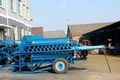 Diesel Engine powered Head-Feed Paddy Wheat Barley Thresher