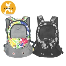 Breathable Air Mesh Cat Dog Carrier Backpack For Small Animals