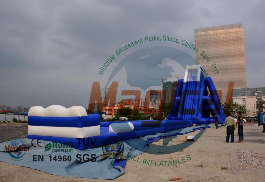 big water park games giant inflatable water slide for adult