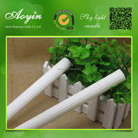 South Africa paraffin wax fluted candel