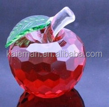 Decoration Apple/Crystal Wedding Gifts christmas gifts