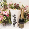 Adorable cotton wine bottle tote favors bag for bachelor party