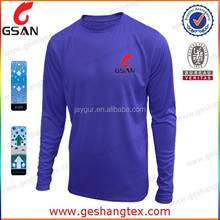 High quality dri fit men long sleeve shirt