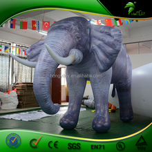 2016 New Designed 2.8m High Large Inflatable Elephant / PVC Inflatable Animal Model For Holiday Decoration And Advertising