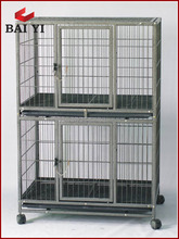 BAIYI Dog Kennel Cage With Wheels