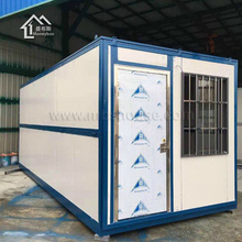 China Suppliers 40 foot modular prefab folding container house