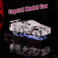 New Design Crystal Car Model For Wedding Souvenirs gifts