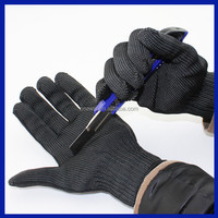 2016 Gloves Proof Protect Stainless Steel Wire Safety Gloves Cut Metal Mesh Butcher Anti-cutting gloves