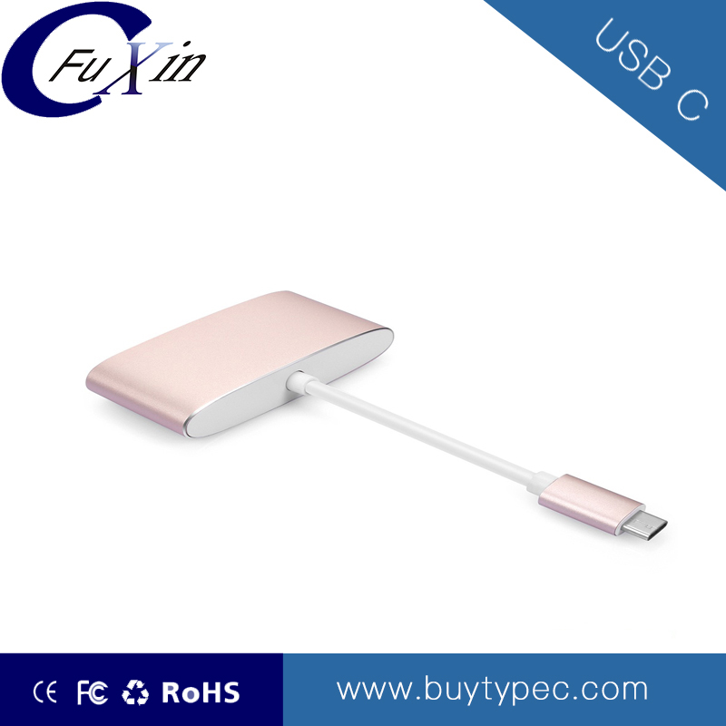 2017 most popular multi monitor type c usb to vga adapter Customized