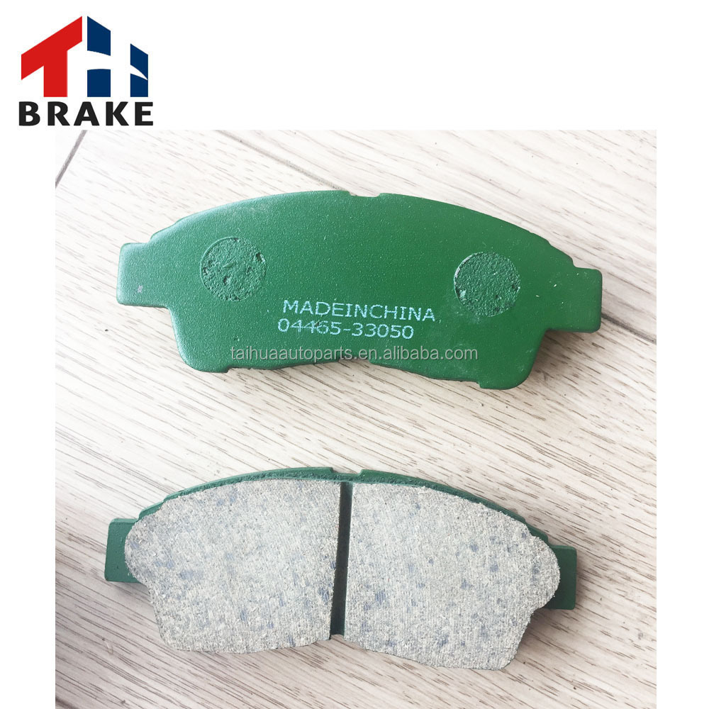 Manufacture supply TOYOTA auto parts corolla brake pad