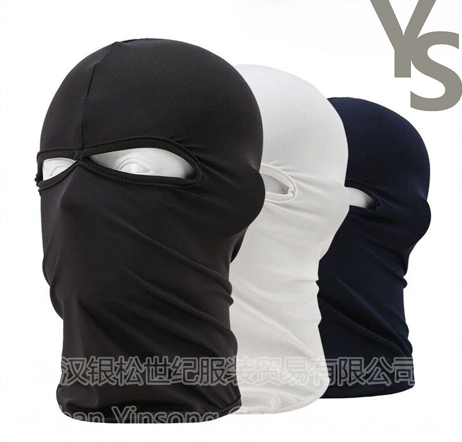 [Wuhan YinSong] Military Tactical Balaclava Motorcycle Biker Face Mask Helmet Inner Cap Full Face with One/Two/Three Holes