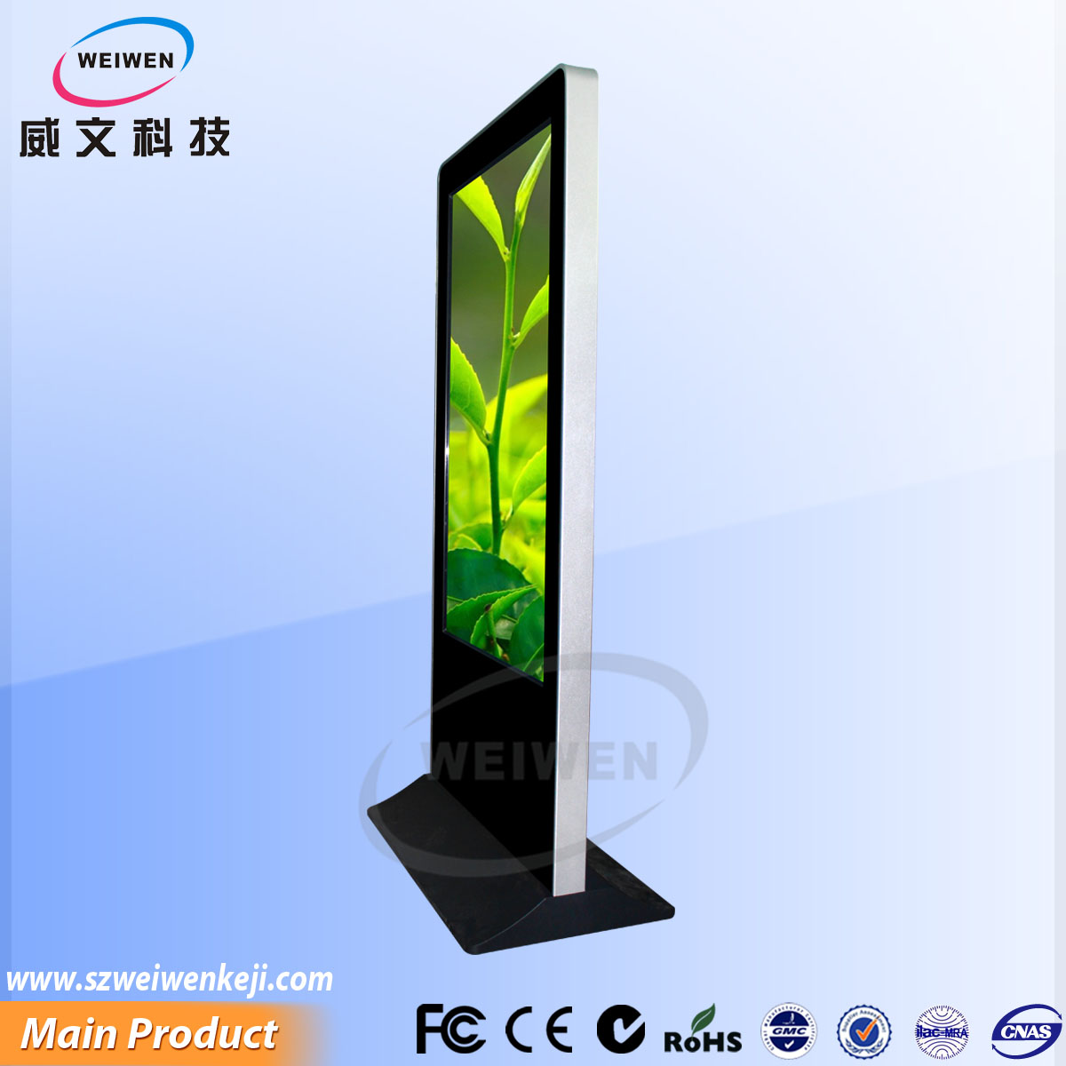 acrylic monitor stand high resolution clear touch screen kiosk