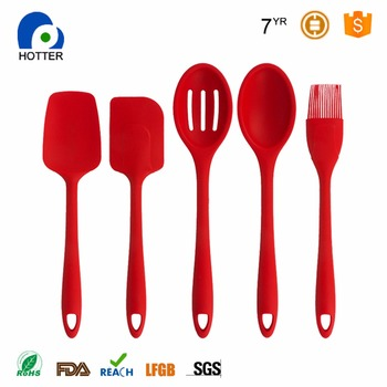 Hot selling products silicone kitchen utensil set silicone kitchen product