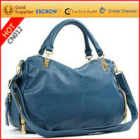 2012 trendy hot sale personalized pu lady tote bag at resonable price