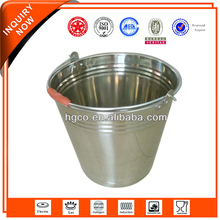 multi-functional stainless steel bucket