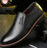 Wholesale spring casual Genuine leather dress shoes for men
