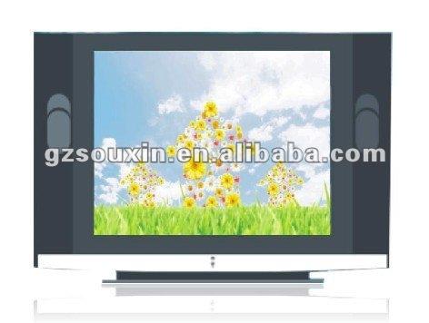 26 inch pure flat home Color CRT TV with Screen protection function