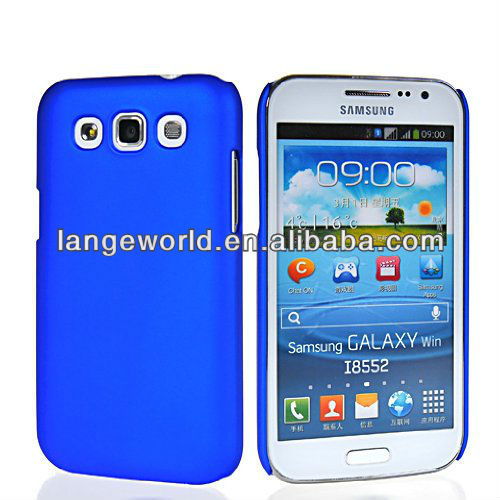 PC Rubberized Rubber Coating Back Case Cover for Samsung Galaxy Win i8550 i8552