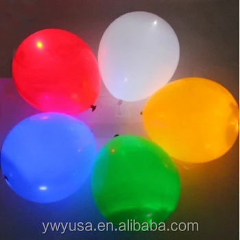 "5PCS/BAG,100pcs/lot RGB flashing Led light up balloons,12"" luminous Latex LED balloons,LED for Wedding and Party Decoration"