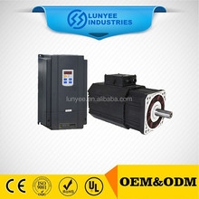 3-Phase High Frequency Ac Servo Motor 7.5 KW