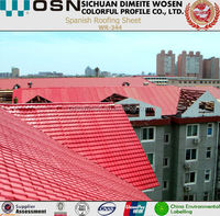 Imitative Stone Coated Metal Roof Tile