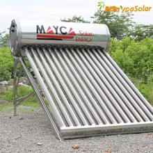 solar water heater roof system